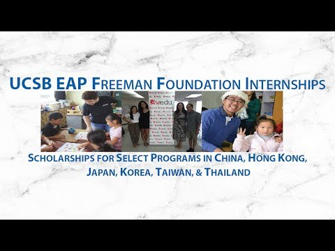 Study Abroad with the Freeman Foundation Internship!