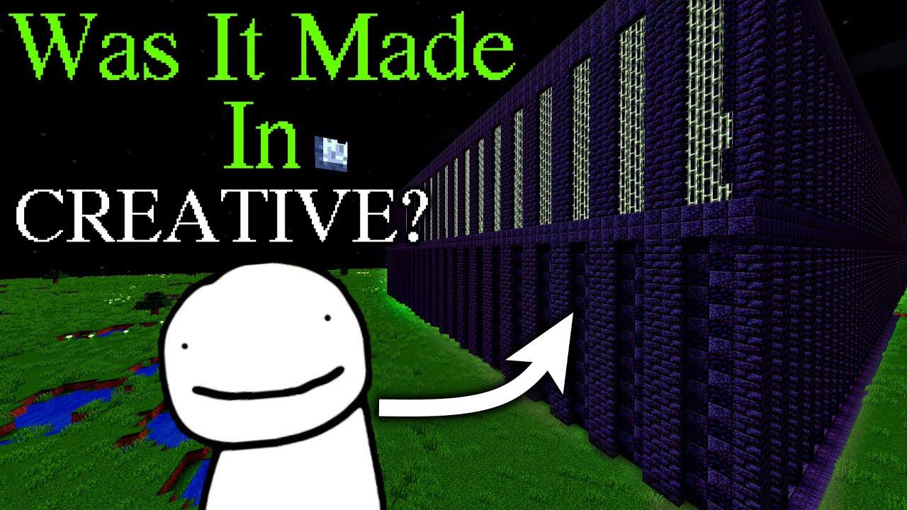 Was Dream SMP Prison Made in CREATIVE Mode?