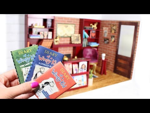 DIY American Girl Bookstore Dollhouse Room