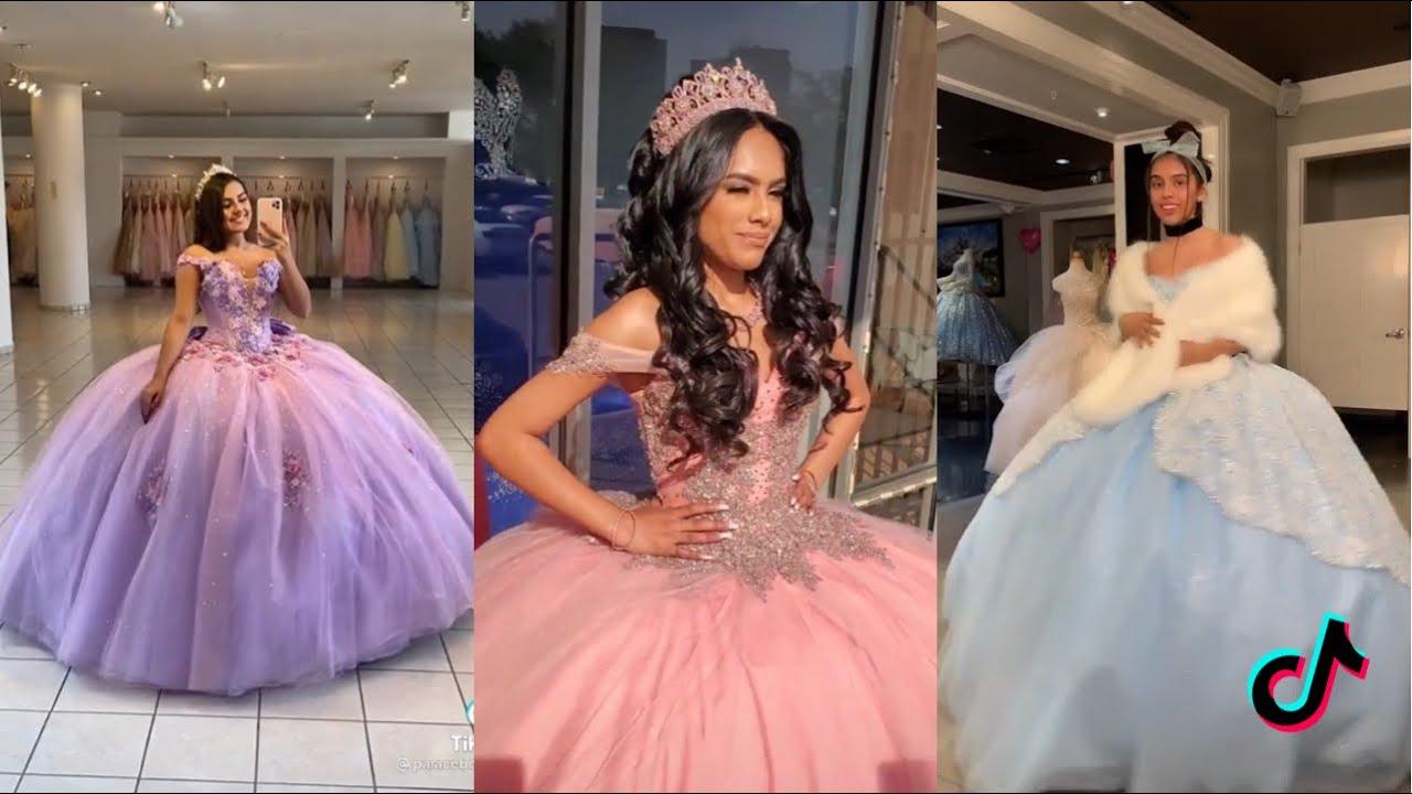 Quinceañera Birthday Dresses | Tiktok Compilation
