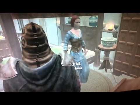 Skyrim giving the vampire gift to your wife