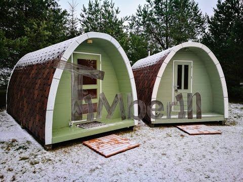 Camping pod scandinavian style - TimberIN