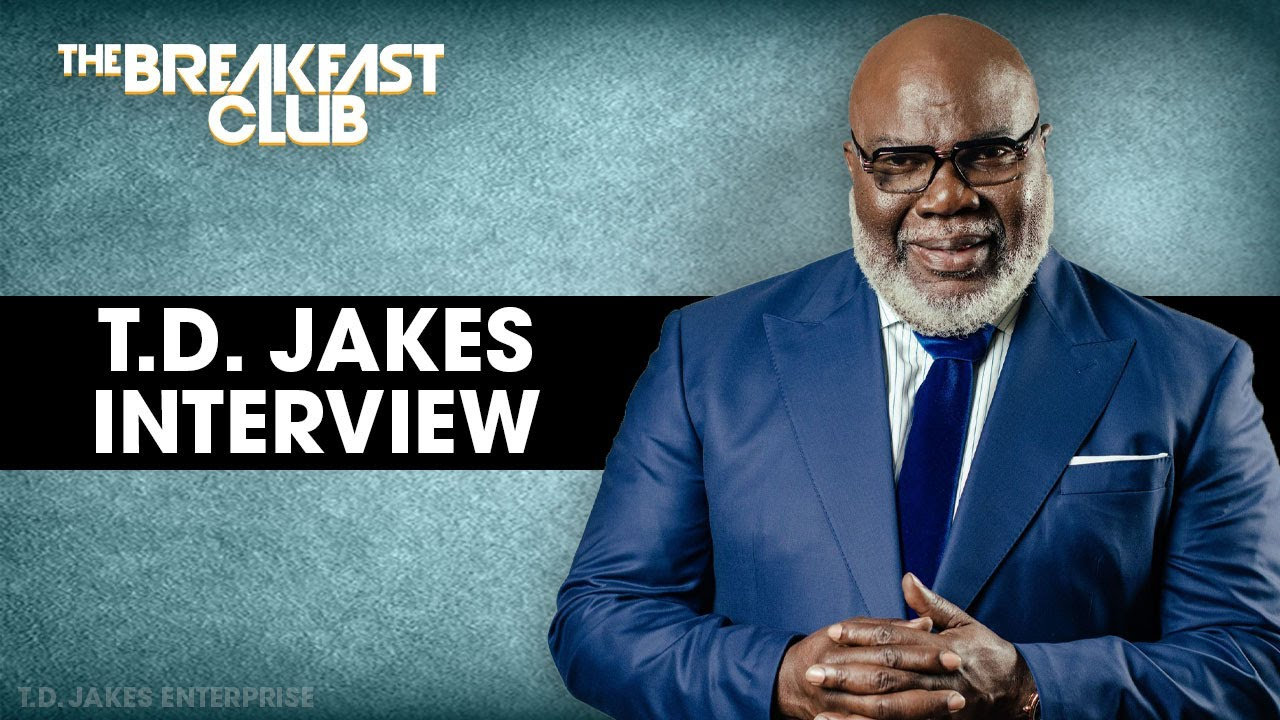 Bishop T.D. Jakes On The Power Of Words, Faith, Communication, His New Book + More