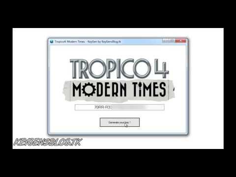 Tropico 4: Modern Times -- KeyGen