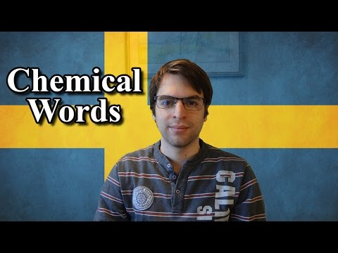 Learn Swedish | 14 Chemical Words | Lesson 27