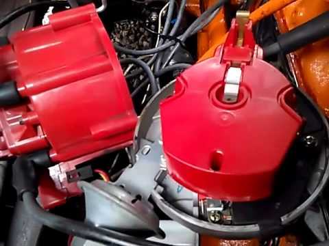 Replacing points with electronic ignition