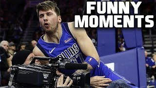 Luka Doncic FUNNY MOMENTS