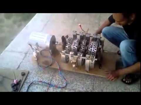 Free Energy Jan 2015 Magnet Motor Wasif Kahloon selfrunning Part 2