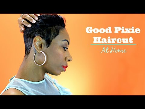 How To Give Yourself A Good Pixie Cut At Home | Kaye Wright