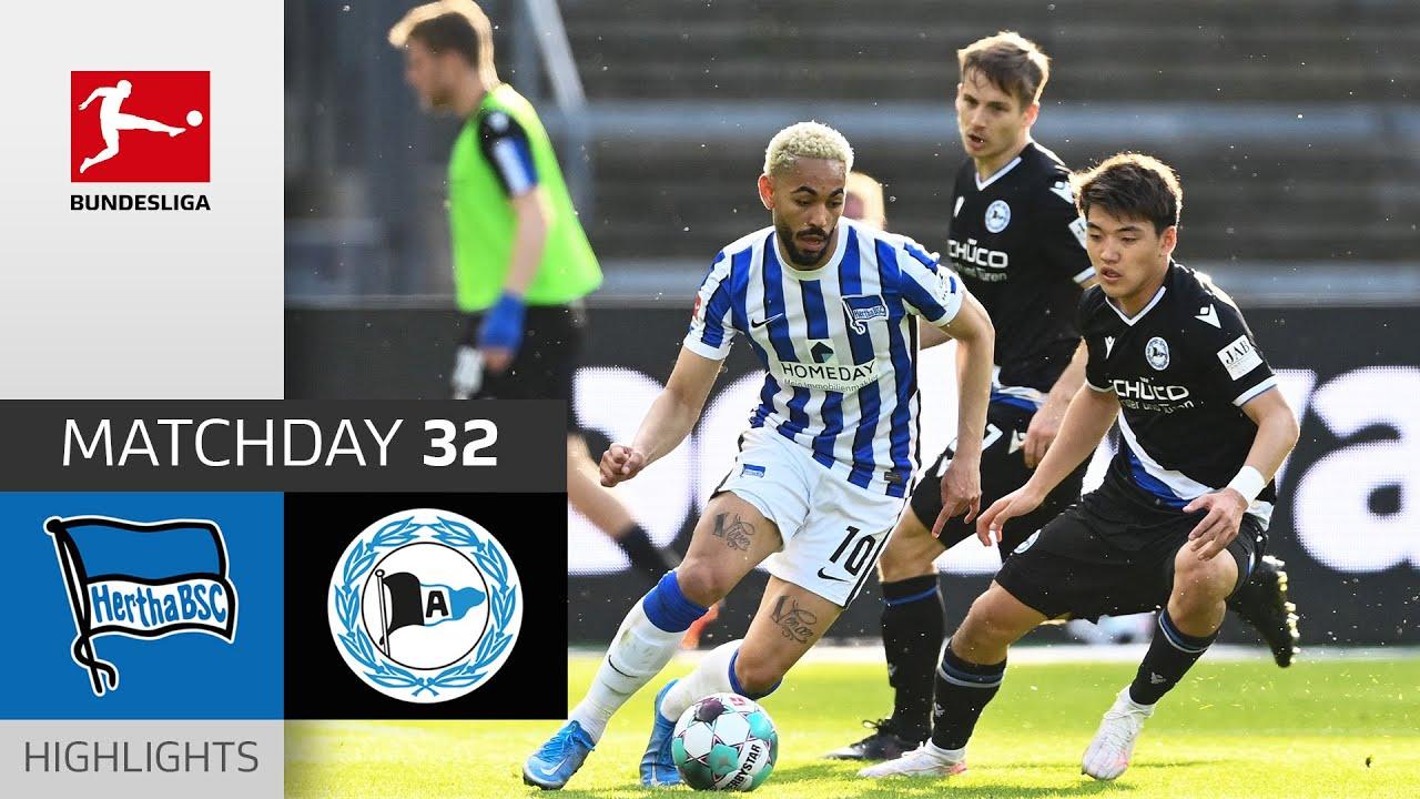 Hertha Berlin - Arminia Bielefeld | 0-0 | Highlights | Matchday 32 – Bundesliga 2020/21