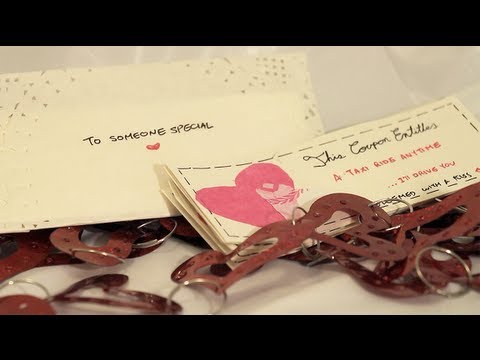 DIY Gift Idea: Coupons (Valentines Day, Anniversary, Christmas, etc) | Eva Chung