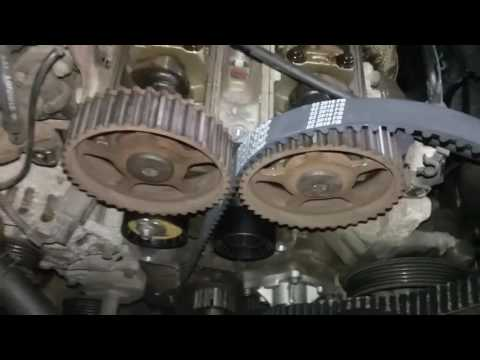 Timing belt replacement 01 ford focus 2.0 zetec dohc