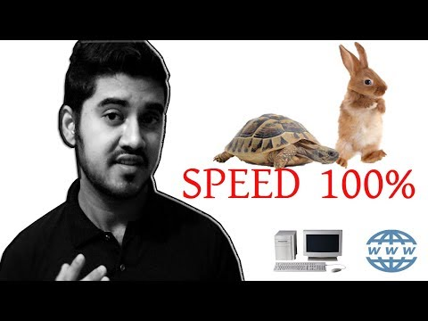 Computer & Internet works slow? How to Speed Up Your PC & Internet   3 Easy DIY Ways   2018
