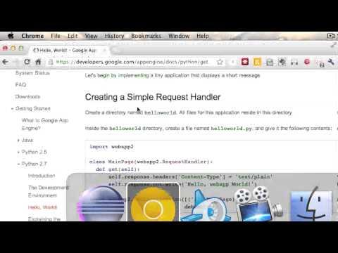 Google App Engine Python and Eclipse Setup Instructions