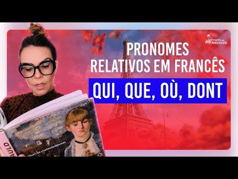 Xxx Mp4 QUI QUE OÙ DONT Pronomes Relativos Em Francês 3gp Sex