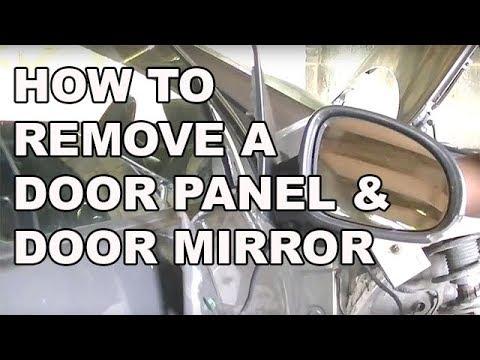 VW Golf Jetta MK5 Door Panel & Door Mirror Removal Simple Easy Steps