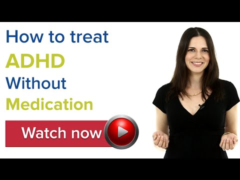 How to treat ADHD without medication