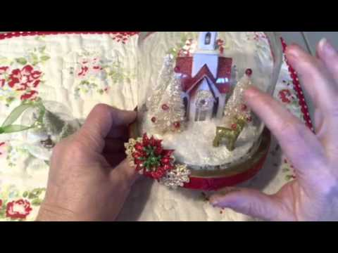 Project share- waterless snow globes