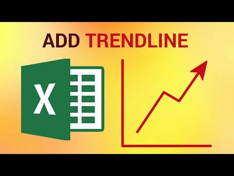 How to Add a Trendline in Excel 2016
