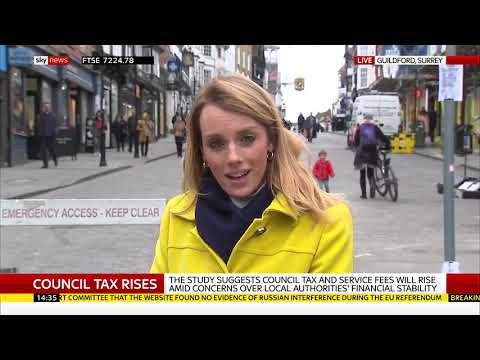 Council tax 'hikes loom across England' - Rebecca Williams reports