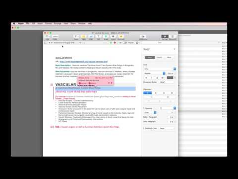 How To Accept All Changes Microsoft Word Documents with Apple Pages