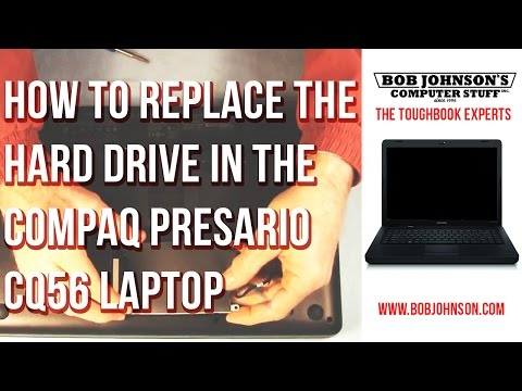 How to Replace the Hard drive in the Compaq Presario CQ56 Laptop