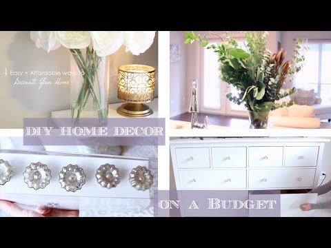 HOW TO: Home + Room Decor Ideas on a Budget