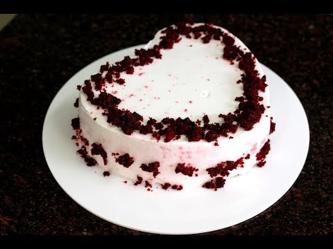 How to make a delicious red velvet cake @home - step by step