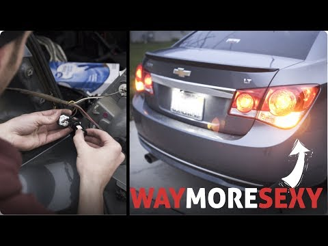 LED Lights Install | 2012 Chevy Cruze LT (How To)