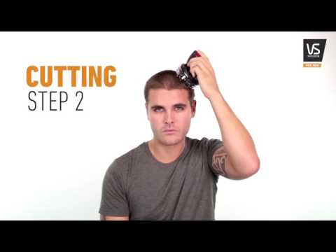 How to create a CREW CUT with VS For Men