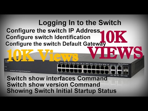 Logging In to the Switch..!! How to Configure Switches..!!. HINDI..!!