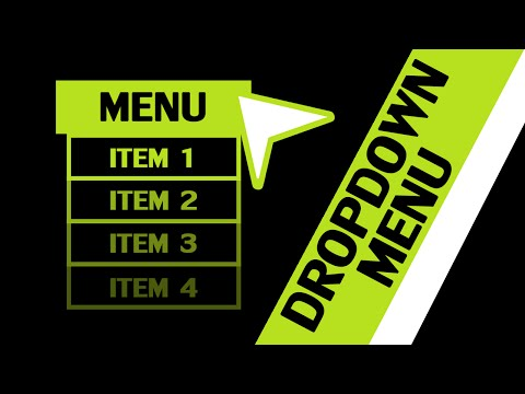 GameMaker Studio - Dropdown Menu Component