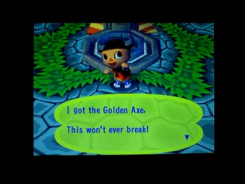 Animal Crossing Gamecube 100%! #67: Getting the golden axe!