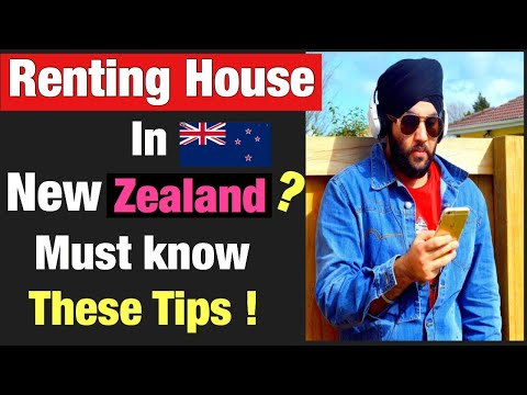 How to apply for rent the property in New Zealand ,rental services ,timings and process in [Hindi]
