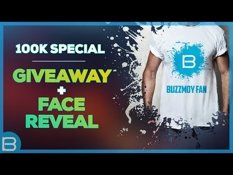 100K Special (Giveaway + Face Reveal)