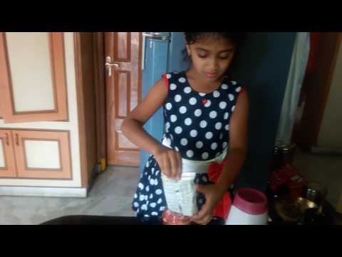 How to make Chocolate milk shake at home