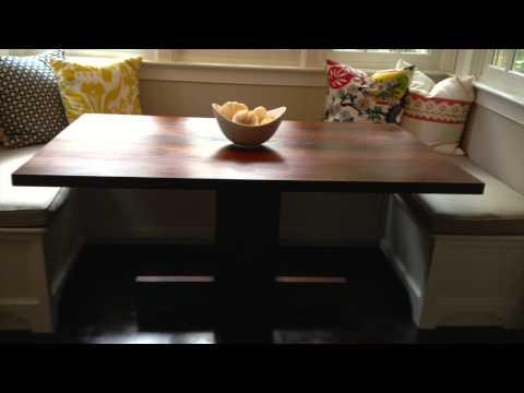 FEWorks Design-Build: Solid Walnut Dining Table