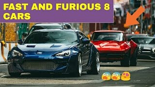 Fast and Furious 8 ALL CARS ! ! !