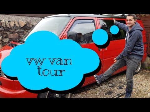 VW T4 Van Tour