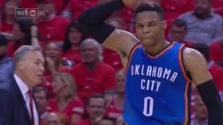 Westbrook (47/11/9) vs Harden (34/8/4) Game 5 Duel in Houston - April 25, 2017