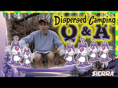 Dispersed Camping Q&A