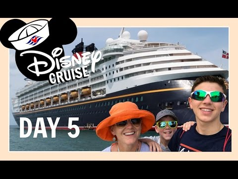 DISNEY CRUISE VACATION   DAY 5: MAKING FUN IN MARTINIQUE   Flippin' Katie