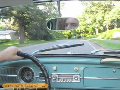 1962 VW Ragtop Beetle Test Drive