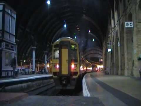 Departing York for Blackpool North, January 2013