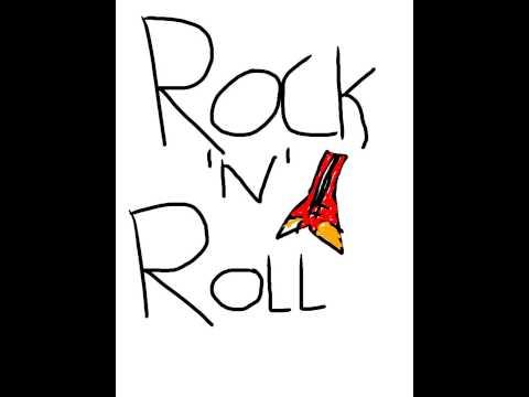 rock n roll t shirt design