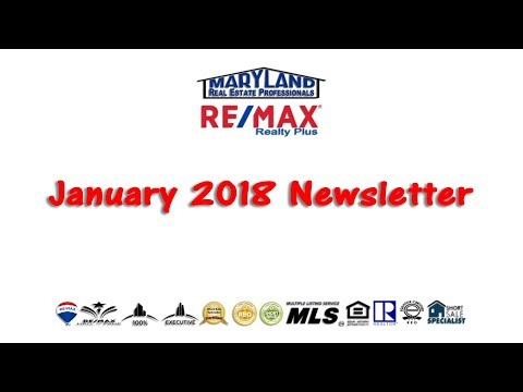 Jan. 2018 Newsletter Preparing To Sell Your Home 301-418-8640 Houses For Sale 21771 Homes For Sale
