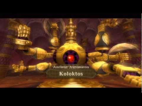 Legend of Zelda: Skyward Sword - Boss: Ancient Automaton Koloktos [HD]