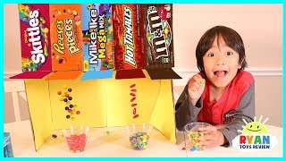 DIY CANDY DISPENSER Cardboard vending Machine