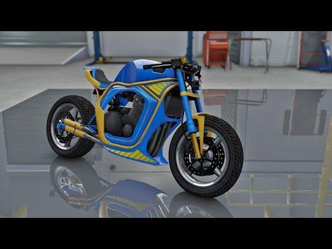 Shitzu Defiler CUSTOMIZATION & TEST - Grand Theft Auto V ONLINE BIKER DLC