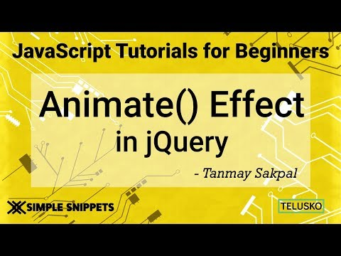 #42 JQuery Animate Effect